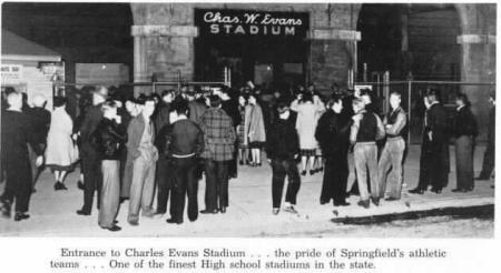 Evans Stadium c. 1939